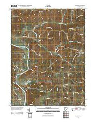 Adamsville Ohio Historical topographic map, 1:24000 scale, 7.5 X 7.5 Minute, Year 2010