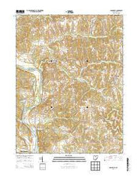 Adamsville Ohio Historical topographic map, 1:24000 scale, 7.5 X 7.5 Minute, Year 2013
