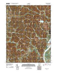 Addison Ohio Historical topographic map, 1:24000 scale, 7.5 X 7.5 Minute, Year 2011