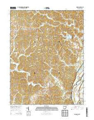 Addison Ohio Historical topographic map, 1:24000 scale, 7.5 X 7.5 Minute, Year 2013