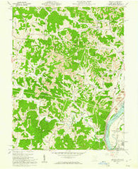 Addison Ohio Historical topographic map, 1:24000 scale, 7.5 X 7.5 Minute, Year 1960