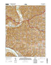 Addyston Ohio Historical topographic map, 1:24000 scale, 7.5 X 7.5 Minute, Year 2013