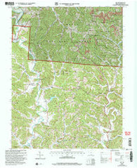 Aid Ohio Historical topographic map, 1:24000 scale, 7.5 X 7.5 Minute, Year 2002
