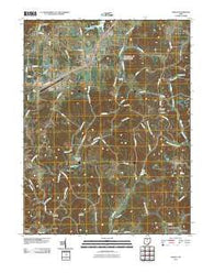Albany Ohio Historical topographic map, 1:24000 scale, 7.5 X 7.5 Minute, Year 2010