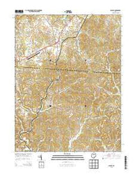 Albany Ohio Historical topographic map, 1:24000 scale, 7.5 X 7.5 Minute, Year 2013