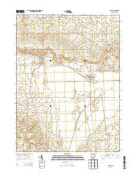 Alger Ohio Historical topographic map, 1:24000 scale, 7.5 X 7.5 Minute, Year 2013