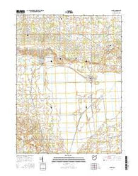 Alger Ohio Current topographic map, 1:24000 scale, 7.5 X 7.5 Minute, Year 2016