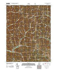 Allensville Ohio Historical topographic map, 1:24000 scale, 7.5 X 7.5 Minute, Year 2011
