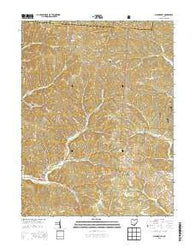 Allensville Ohio Historical topographic map, 1:24000 scale, 7.5 X 7.5 Minute, Year 2013