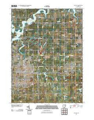 Alliance Ohio Historical topographic map, 1:24000 scale, 7.5 X 7.5 Minute, Year 2010