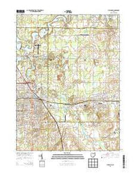 Alliance Ohio Historical topographic map, 1:24000 scale, 7.5 X 7.5 Minute, Year 2013