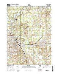 Alliance Ohio Current topographic map, 1:24000 scale, 7.5 X 7.5 Minute, Year 2016