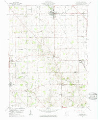 Arcanum Ohio Historical topographic map, 1:24000 scale, 7.5 X 7.5 Minute, Year 1961