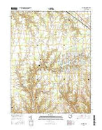 Ash Ridge Ohio Current topographic map, 1:24000 scale, 7.5 X 7.5 Minute, Year 2016 from Ohio Map Store