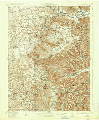 Bainbridge Ohio Historical topographic map, 1:62500 scale, 15 X 15 Minute, Year 1917