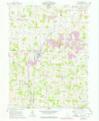 Baltic Ohio Historical topographic map, 1:24000 scale, 7.5 X 7.5 Minute, Year 1961