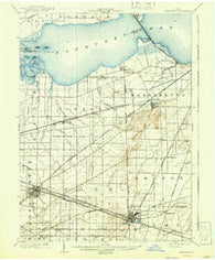 Bellevue Ohio Historical topographic map, 1:62500 scale, 15 X 15 Minute, Year 1903