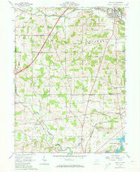Bellville Ohio Historical topographic map, 1:24000 scale, 7.5 X 7.5 Minute, Year 1961