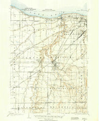 Berea Ohio Historical topographic map, 1:62500 scale, 15 X 15 Minute, Year 1902