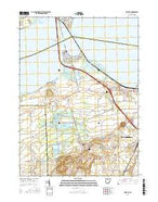 Castalia Ohio Current topographic map, 1:24000 scale, 7.5 X 7.5 Minute, Year 2016 from Ohio Map Store