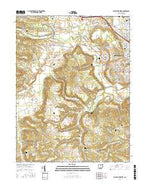 Chillicothe West Ohio Current topographic map, 1:24000 scale, 7.5 X 7.5 Minute, Year 2016 from Ohio Map Store