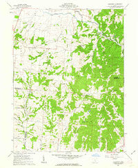 Clearport Ohio Historical topographic map, 1:24000 scale, 7.5 X 7.5 Minute, Year 1961