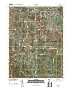 Creston Ohio Historical topographic map, 1:24000 scale, 7.5 X 7.5 Minute, Year 2010