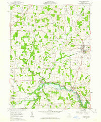 Danville Ohio Historical topographic map, 1:24000 scale, 7.5 X 7.5 Minute, Year 1961