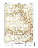 Defiance West Ohio Current topographic map, 1:24000 scale, 7.5 X 7.5 Minute, Year 2016 from Ohio Map Store