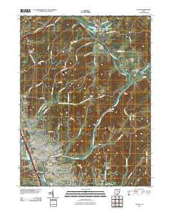 Dover Ohio Historical topographic map, 1:24000 scale, 7.5 X 7.5 Minute, Year 2010