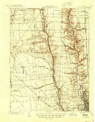 Dublin Ohio Historical topographic map, 1:62500 scale, 15 X 15 Minute, Year 1903