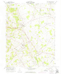 East Liberty Ohio Historical topographic map, 1:24000 scale, 7.5 X 7.5 Minute, Year 1961