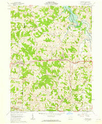 Fairview Ohio Historical topographic map, 1:24000 scale, 7.5 X 7.5 Minute, Year 1961