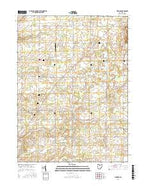 Fireside Ohio Current topographic map, 1:24000 scale, 7.5 X 7.5 Minute, Year 2016 from Ohio Map Store