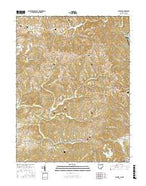 Fleming Ohio Current topographic map, 1:24000 scale, 7.5 X 7.5 Minute, Year 2016 from Ohio Map Store