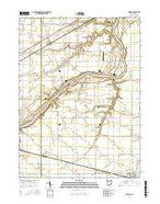 Florida Ohio Current topographic map, 1:24000 scale, 7.5 X 7.5 Minute, Year 2016 from Ohio Map Store
