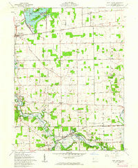 Fort Loramie Ohio Historical topographic map, 1:24000 scale, 7.5 X 7.5 Minute, Year 1961