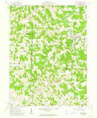 Freeport Ohio Historical topographic map, 1:24000 scale, 7.5 X 7.5 Minute, Year 1961