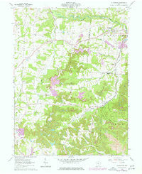 Fultonham Ohio Historical topographic map, 1:24000 scale, 7.5 X 7.5 Minute, Year 1961