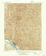 Ironton Ohio Historical topographic map, 1:62500 scale, 15 X 15 Minute, Year 1898