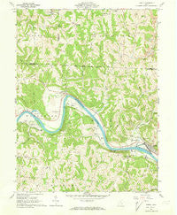 Lowell Ohio Historical topographic map, 1:24000 scale, 7.5 X 7.5 Minute, Year 1961