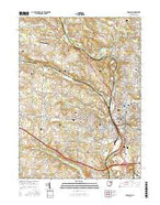 Massillon Ohio Current topographic map, 1:24000 scale, 7.5 X 7.5 Minute, Year 2016 from Ohio Map Store