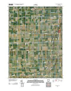 McClure Ohio Historical topographic map, 1:24000 scale, 7.5 X 7.5 Minute, Year 2010