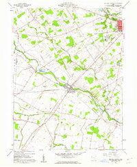 Milford Center Ohio Historical topographic map, 1:24000 scale, 7.5 X 7.5 Minute, Year 1961