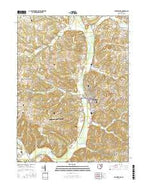 Millersburg Ohio Current topographic map, 1:24000 scale, 7.5 X 7.5 Minute, Year 2016 from Ohio Map Store