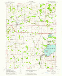 Millersport Ohio Historical topographic map, 1:24000 scale, 7.5 X 7.5 Minute, Year 1961
