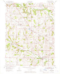 Millville Ohio Historical topographic map, 1:24000 scale, 7.5 X 7.5 Minute, Year 1955
