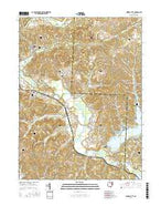 Mineral City Ohio Current topographic map, 1:24000 scale, 7.5 X 7.5 Minute, Year 2016 from Ohio Map Store