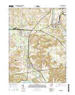 Navarre Ohio Current topographic map, 1:24000 scale, 7.5 X 7.5 Minute, Year 2016 from Ohio Map Store