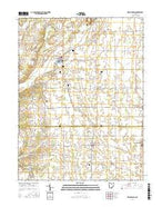 New Madison Ohio Current topographic map, 1:24000 scale, 7.5 X 7.5 Minute, Year 2016 from Ohio Map Store